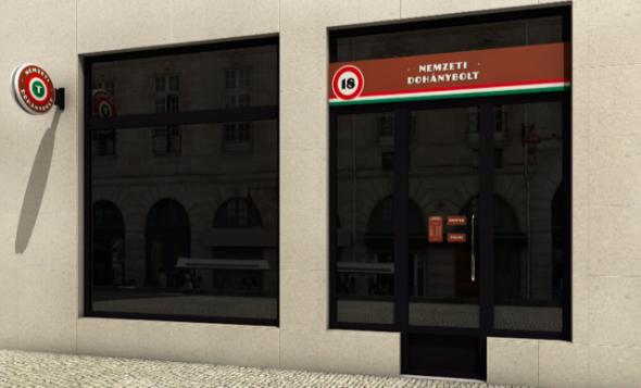 Így néznek majd ki a Nemzeti Dohányboltok
