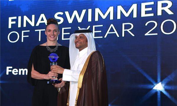 Hosszú Katinka az év női úszója