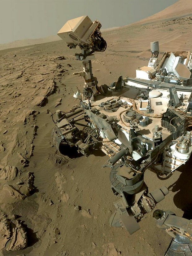 Újabb szelfit készített a Curiosity marsjáró