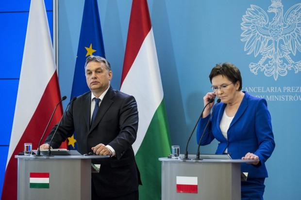 Komoly vita lehetett Orbán és a lengyel kormányfő között