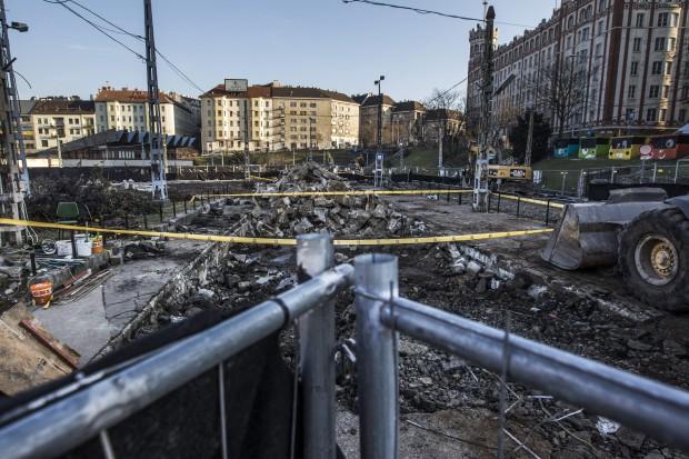 Lehetnek még durva dolgok a föld alatt a Moszkva téren
