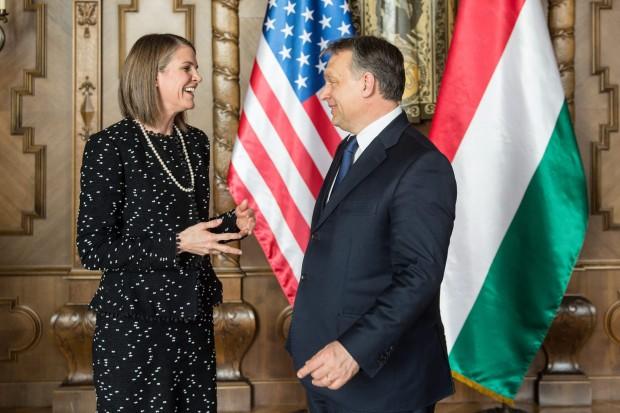 Orbán Viktor fogadta az új amerikai nagykövetet